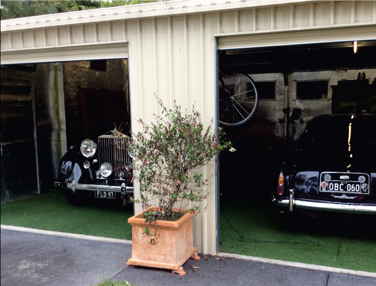 Garage Before Flooring