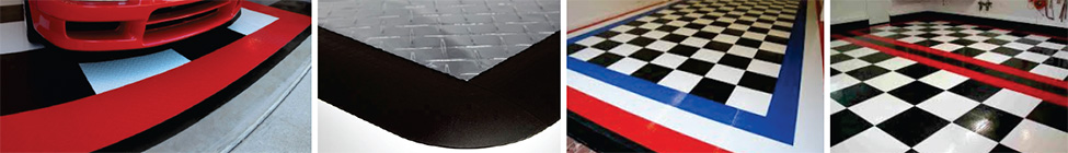 RaceDeck Edges® for Garage Floors