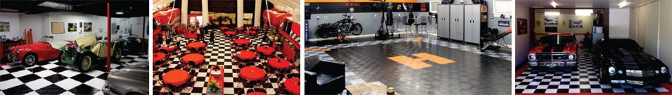 heavy duty garage flooring by RaceDeck