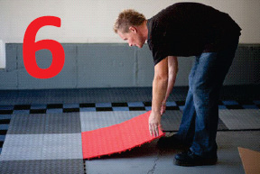 how to install racedeck floor step 6