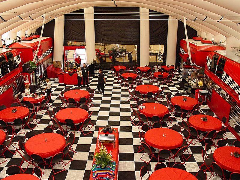 Racedeck Flooring For Cafe
