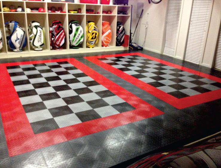 After Modular Flooring