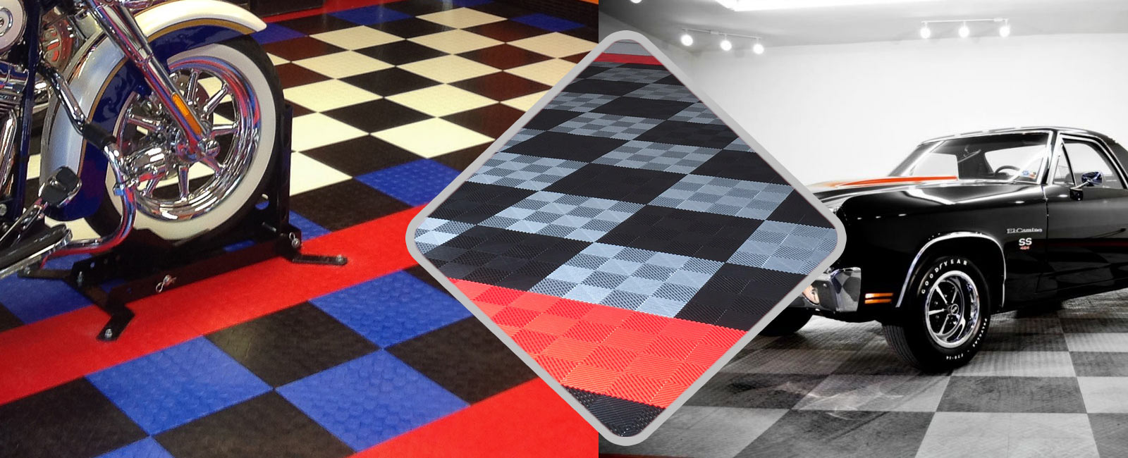RaceDeck & Snaplock flooring