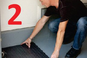 how to install racedeck floor step 2