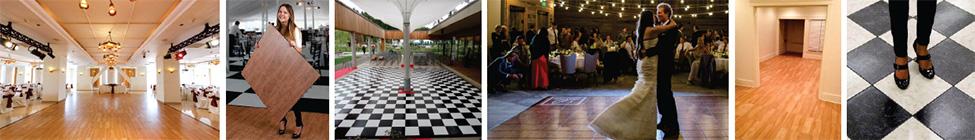 Portable dance floor by Snaplock