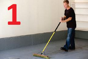 how to install racedeck floor step 1
