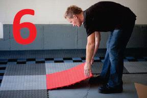 how to install racedeck floor step 6